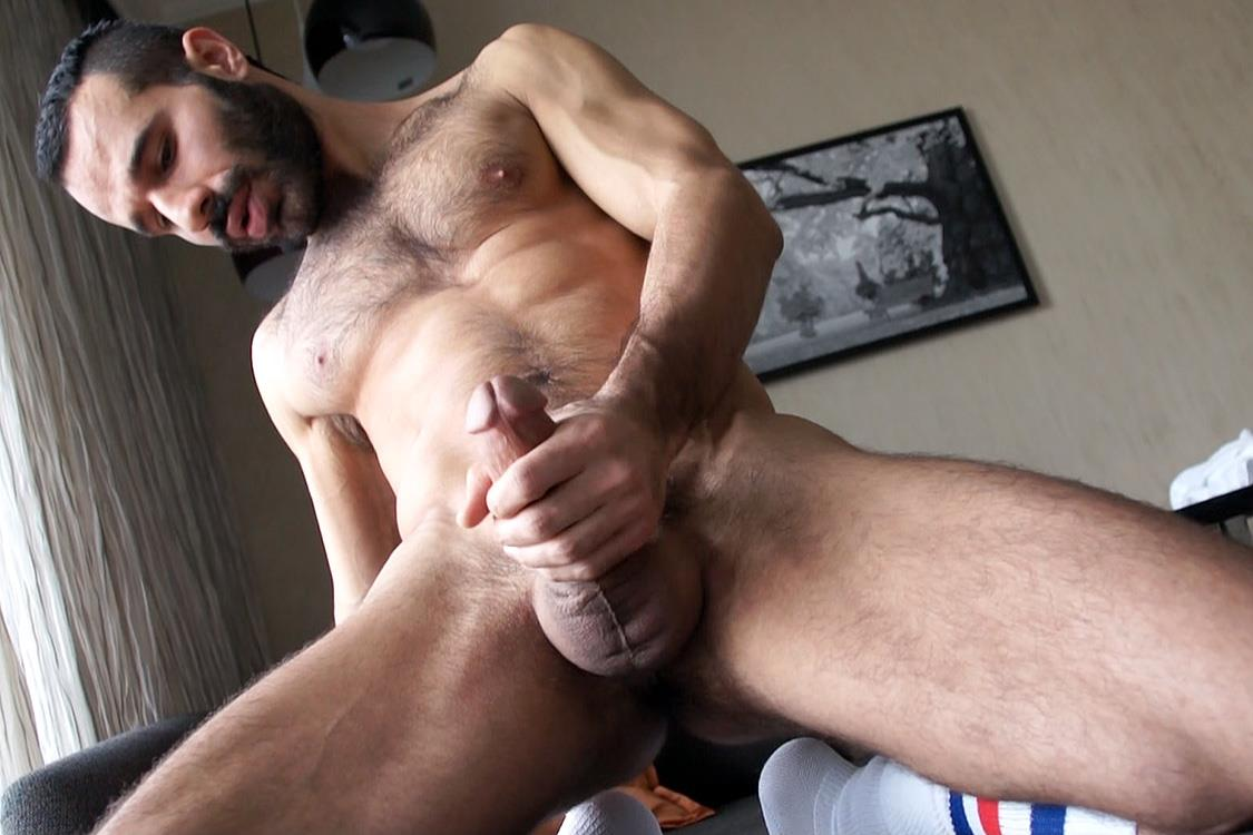 Bentley-Race-Aybars-Arab-Turkish-Guys-With-A-Thick-Cock-Masturbating-Amateur-Gay-Porn-35 Hung Turkish Guy Getting Blown and Jerking Off His Thick Hairy Cock