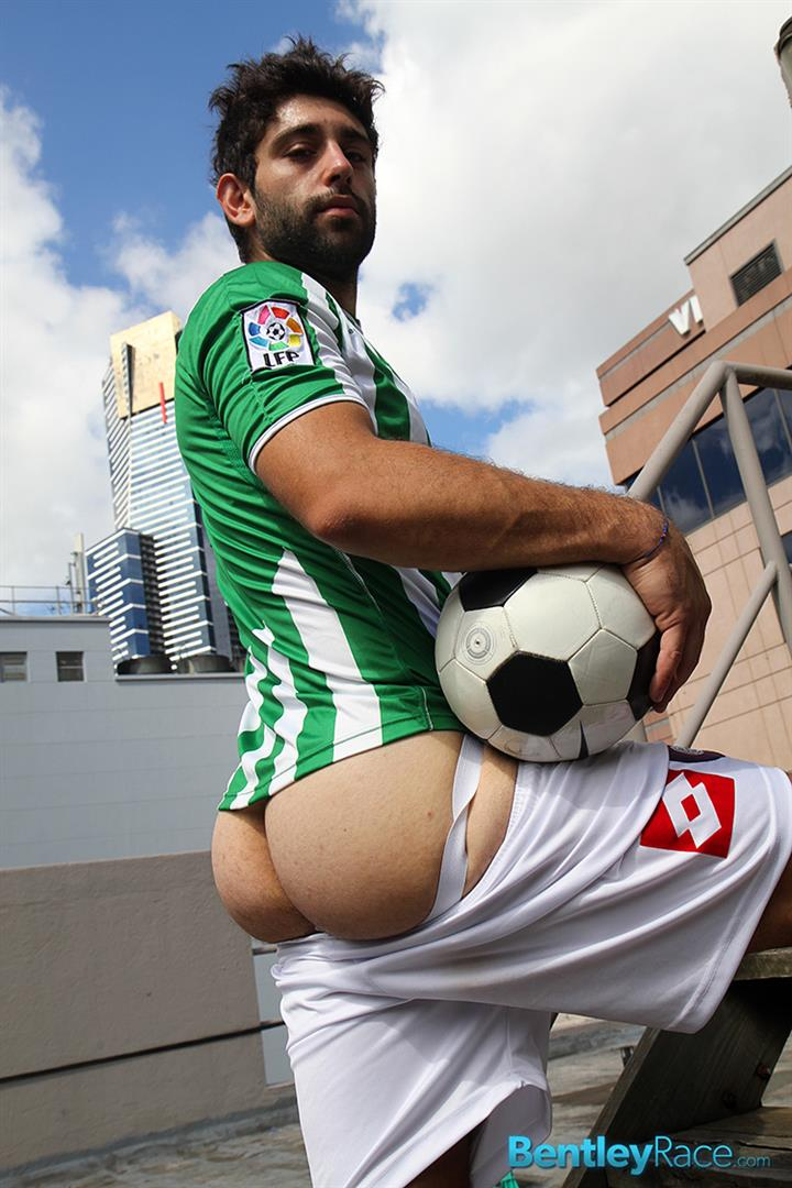 Bentley-Race-Adam-El-Shawar-Middle-Eastern-Soccer-Play-With-A-Huge-Uncut-Cock-Amateur-Gay-Porn-12 Straight Middle Eastern Soccer Player Jerking His Big Uncut Cock