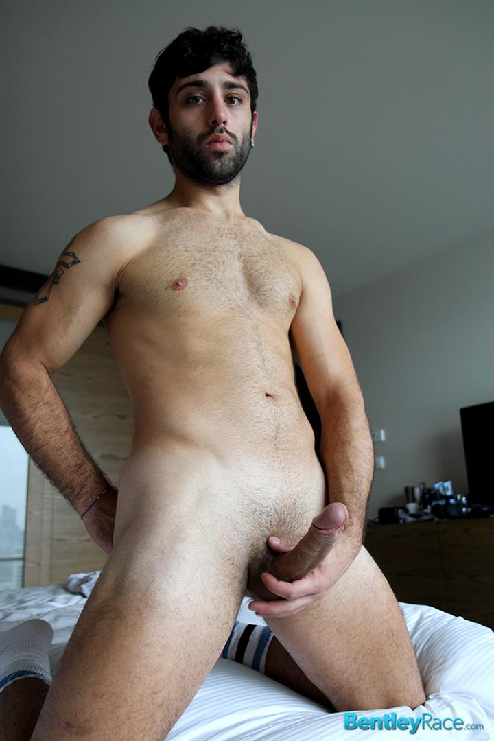 Bentley-Race-Adam-El-Shawar-Arab-With-A-Big-Uncut-Cock-Masturbating-Fleshlight-Amateur-Gay-Porn-15 Amateur Arab Soccer Player El Shawar Jerking His Big Uncut Cock