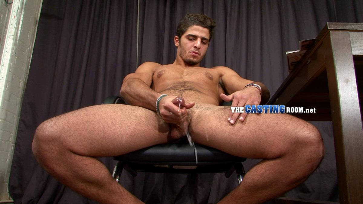 The Casting Room Hossam Naked Arab Jerking Big Arab Cock Amateur Gay Porn 16 Straight Arab Auditions For Porn and Jerks His Hairy Cock